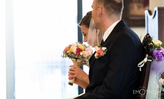 Agnieszka - ślub, kwiaty